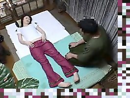 japanese girl girl massage
